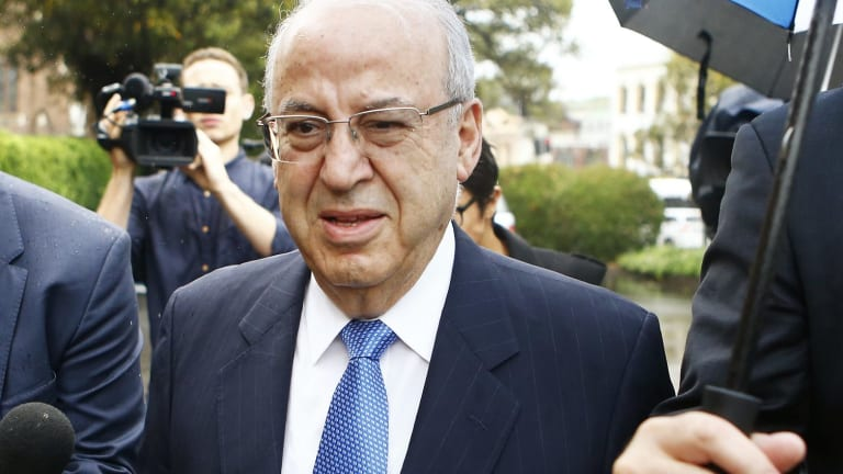 Eddie Obeid was jailed for misconduct in public office.
