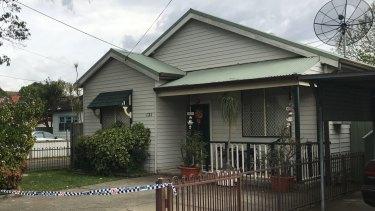 Police are investigating the alleged attack which left a woman critically injured.