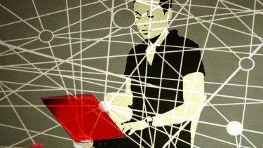 The internet is everywhere. Illustration: Michel O'Sullivan