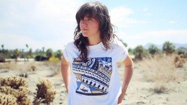 Courtney Barnett is one of the Falls Festival's headliners for 2015.