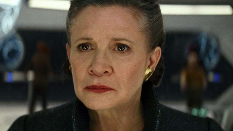 The Last Jedi is Carrie Fisher's final performance on the big screen.