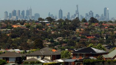 """Half of the semi-rural green wedge land set aside by the Hamer government in the 1970s as Melbourne's """"lungs"""" has been whittled away."""