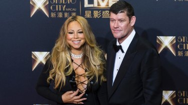 The suit follows a tumultuous year for Mr Packer who has recently split from his fiancee US songstress Mariah Carey.