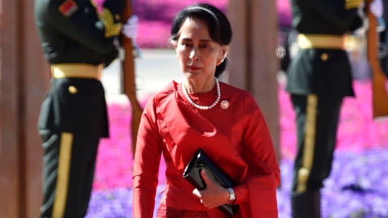 Aung San Suu Kyi is coming under increasing pressure to intervene in the Rohingya crisis.
