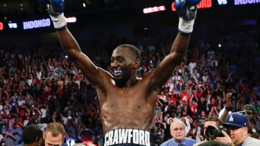 Unstoppable: Terence Crawford.