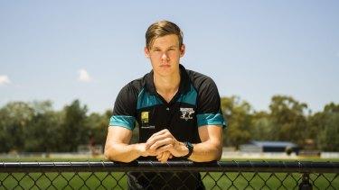 Port Adelaide recruit, Canberra's Logan Austin.