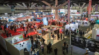 The CeBIT technology conference in Sydney last week.