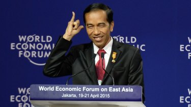 """Indonesian President Joko Widodo has repeated claimed the death penalty for drug felons is a necessary """"shock therapy"""" for a country facing a drug emergency."""