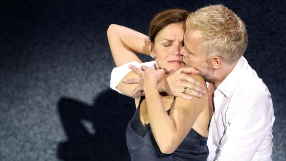 Scenes from a Marriage review: On-stage scenes of emotional fog and illumination