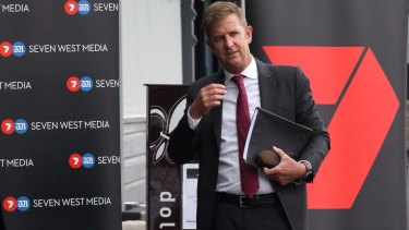 """Seven West Media chief executive Tim Worner has the """"full confidence"""" of the board."""