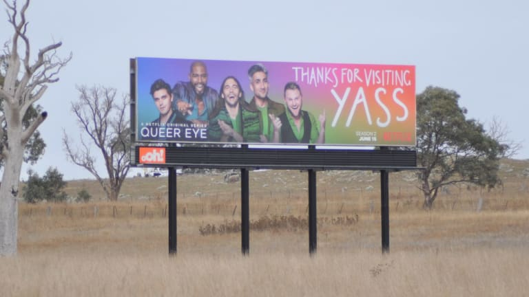 The boys from Netflix hit <I>Queer Eye</I> are about to give Yass the makeover of its dreams.