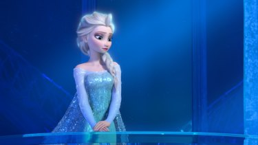 Elsa from <i>Frozen</i>, who was the subject of a recent Twitter campaign.