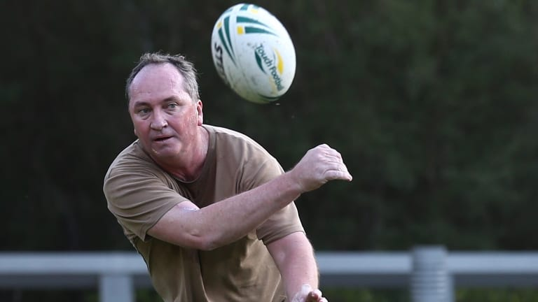 The last-minute drama has also exposed serious tensions within the Coalition with Liberals furious at Nationals leader Barnaby Joyce.
