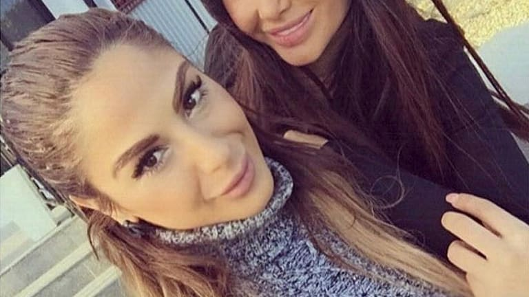 Aisha Mehajer and her sister in law Aysha Mehajer - from Instagram for Andrew Hornery