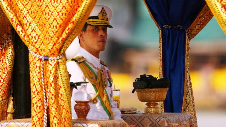 Thailand's Crown Prince Maha Vajiralongkorn.