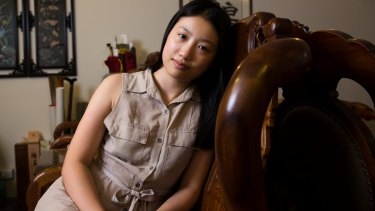Professor Feng Chongyi's daughter, Yunsi.