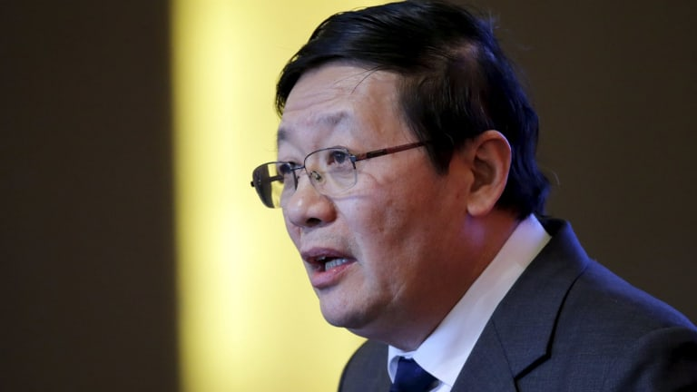China's Finance Minister Lou Jiwei.