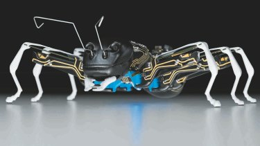 Our new overlords? Bionic ants.