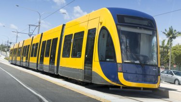 An electrical problem has brought Gold Coast trams to a halt.