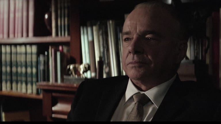 Sean Taylor stars as Prime Minister Harold Holt in <i>The Defector</i>.