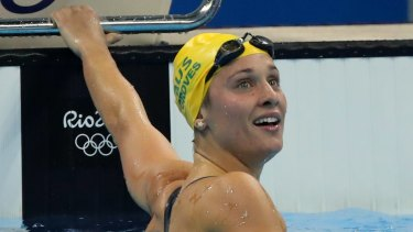Fly free: Maddie Groves has been cleared to swim at the Commonwealth Games after beating an anti-doping testing violation.