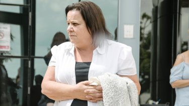 Julie McGregor outside Southport Magistrates Court in November 2017.