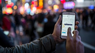 Uber said its driver contract reserved the right to deactivate or restrict a driver from accessing the Uber app 'at any time', and at its 'sole discretion'.