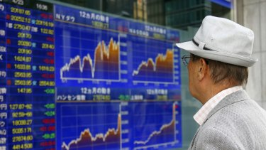 The yen is stronger and the Nikkei weaker as risk aversion hits global markets.