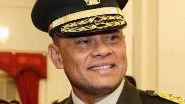 Indonesian Armed Forces Chief General Gatot Nurmantyo