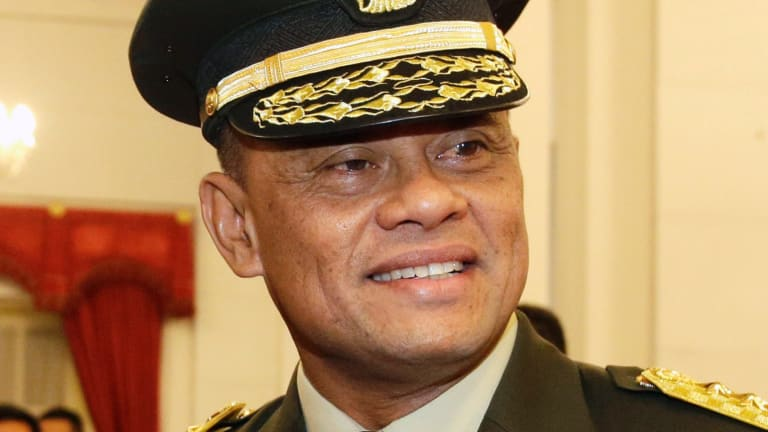 Indonesia's government is seeking clarification from the US after military chief Gatot Nurmantyo was denied entry to the country.