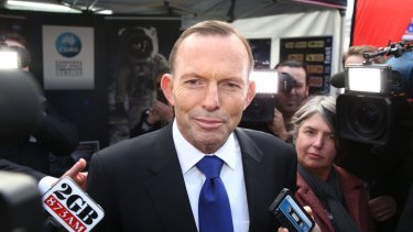 Prime Minister Tony Abbott: 'We have made a very clear decision that we aren't ever going to increase the taxes on super, we aren't ever going to increase the restrictions on super.'