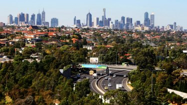 Melbourne's population is on the up and up.