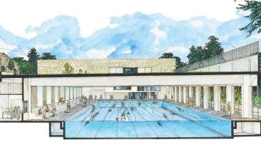 A multimillion-dollar pool development at a Sydney school.
