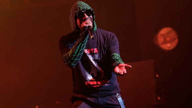 Skepta delivered a masterful performance at the Sydney Opera House.