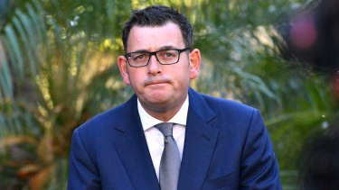 Victorian Premier Daniel Andrews was not sure whether Mr Nardella had resigned or been expelled.
