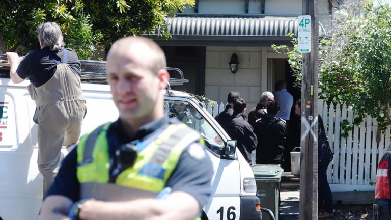Squatters were evicted from 13 Bendigo Street in Collingwood last Friday.