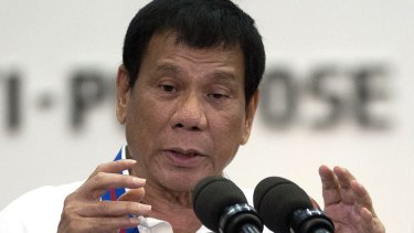 Philippine President Rodrigo Duterte threatened to withdraw his country from the UN in his latest outburst against critics of his anti-drugs campaign.