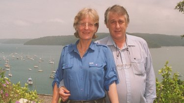 Anne Brooksbank and Bob Ellis