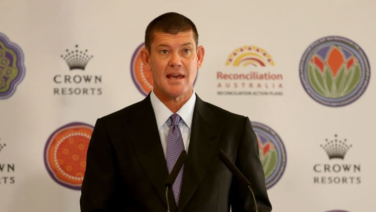 James Packer: Crown's net debt grew 47 per cent to $2.5 billion in the last financial year and it may borrow more to develop its attractions in Australia and a potential new casino in Las Vegas.