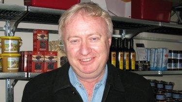 Author and cartoonist Robert Gott.
