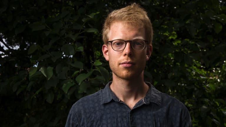 Working holiday visa holder Laurent Van Eesbeeck, 25, from Belgium who has been grossly underpaid working as a fruit picker around Australia.