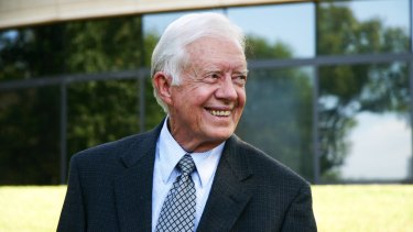 Former US president Jimmy Carter.