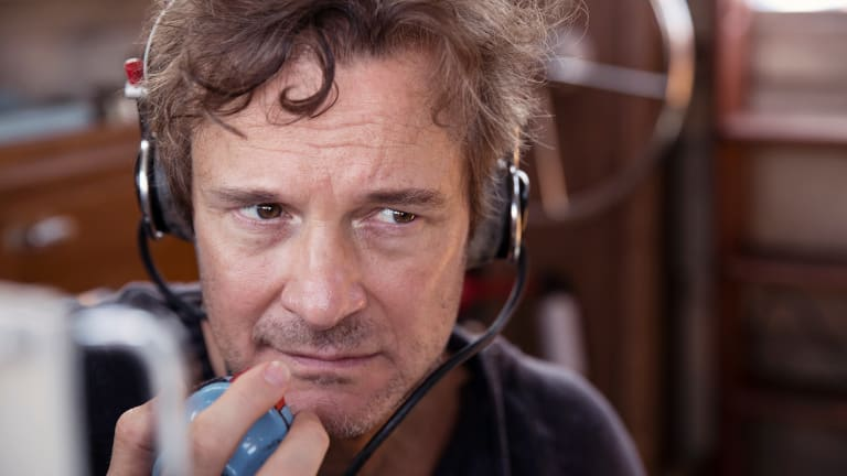 Colin Firth plays Donald Crowhurst, who set off in 1968 to sail solo around the world.