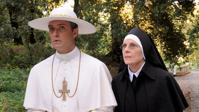 Jude Law and Diane Keaton star in The Young Pope.
