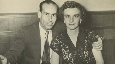 """Nick and Myra met at ballroom dancing lessons, and married in 1955. He was a """"bit naughty""""."""