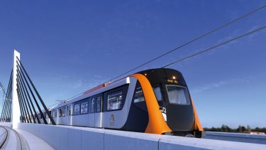 The new metro rail line will include new stations at Olympic Park and the Bays Precinct around Rozelle.