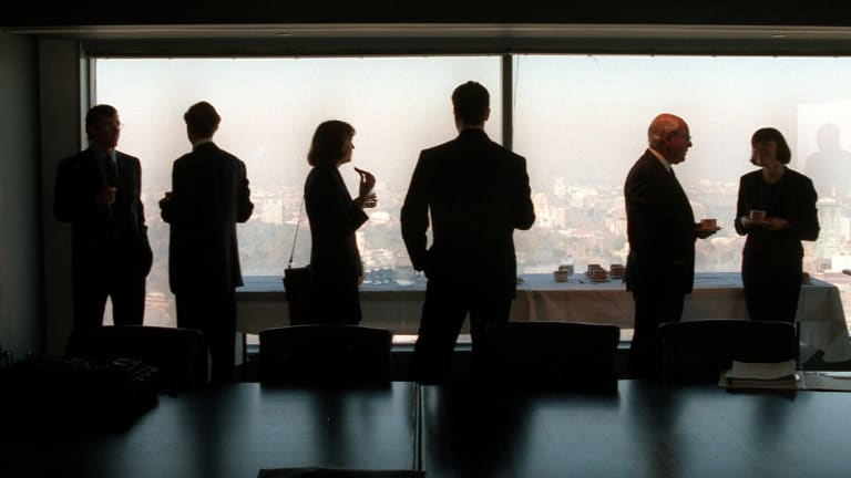 "The level of gender diversity in top companies is ""frustratingly low"", research has found."