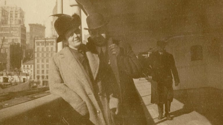 Alexander and Mary Holversson.