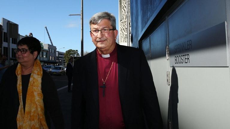 Bishop Roger Herft showed a distinct lack of leadership, the royal commission found.
