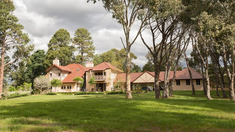 One of Canberra's oldest homes 'Westridge House' at 55 Banks Street Yarralumla sold for a record price.